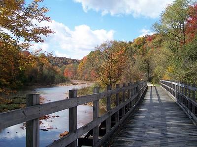 Bridge near Eliza Furnace