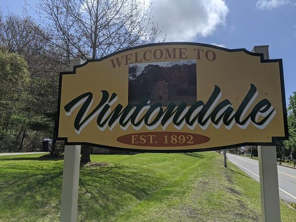 Vintondale's New Sign