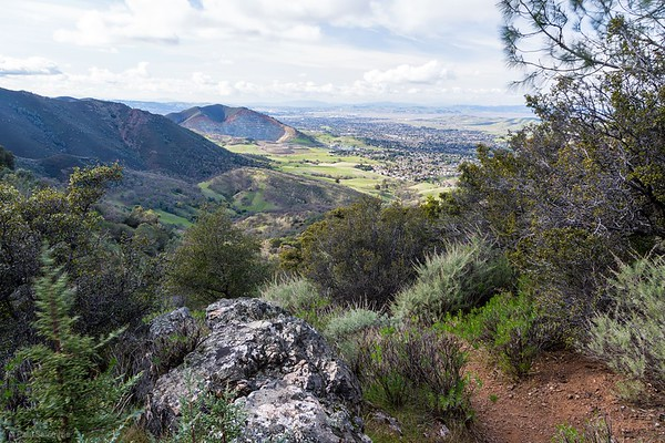 Climb to Mount Olympia - Mount Diablo State Park, February 24, 2018