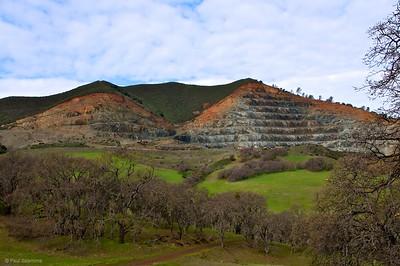 Zion Peak rock quarry