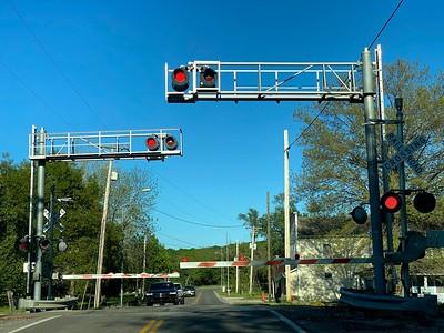 Train crossing in Eastern Jackson County, near Lee's Summit. Carlos Moreno photo