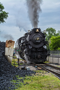 Pere Marquette 1225 at the Coal Pile