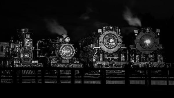 Evolution of the Steam Locomotive