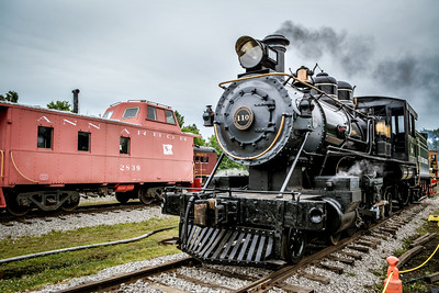 Little River Railroad 110 & Ann Arbor Caboose