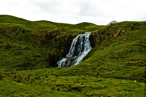Waterfall North Island Te Ika a Maui New Zealand - Aug 07