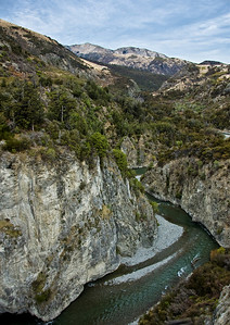 Waimakariri River gorge Canterbury South Island Te Wai Pounamu New Zealand - Sep 07