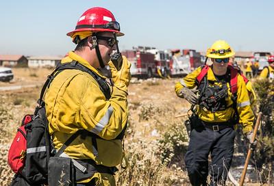 Fire control 7 , Fontana. 06-27-2017