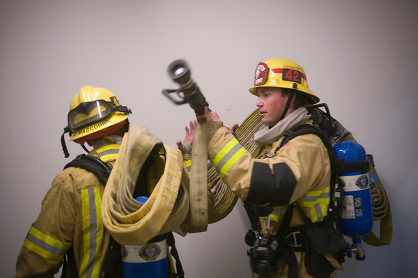 Wide Rise Training Exercise - Feb. 2014
