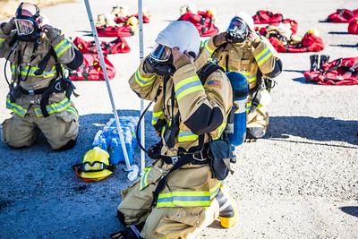 Tower 7 SCBA Training, Sewell Training Center