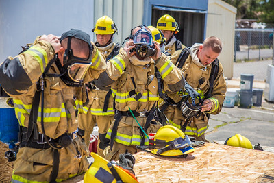 Tower 7 Ventilation /Search Ops Drill - 04/28/2016 Victorville
