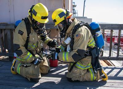 SCBA Training Tower 8, 03-16-17