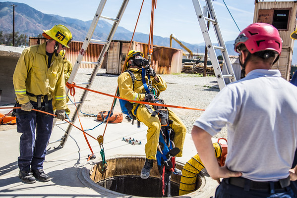 Confined Space Training - Sewell Training Center - 04/2016