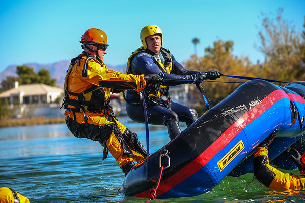 River & Flood Rescue Training 11-19-14