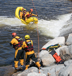 Swift Water Rescue Training 3-28-17
