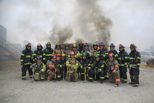 Nipsta Fire Academy Car Fires Fall 2014