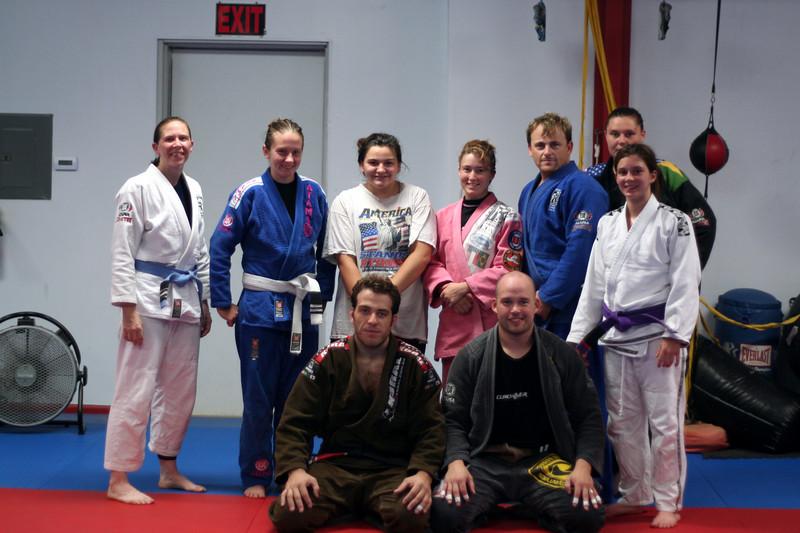 Front: Paulo & Jory.<br /> <br /> Back, From Left: Jennifer, Kat, Jodie, Mariea, Michael, Natalie, Abby.