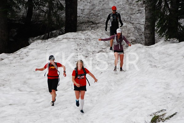 June 24, 2012 - Snow Descent from Black Mountain