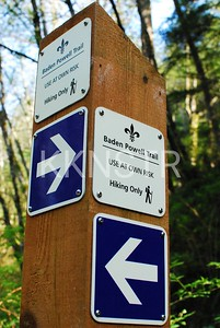 All trails leads to the Baden Powell??