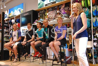 The panel of past winners of the Knee Knacker