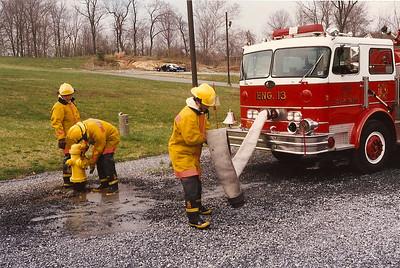 1995 Fire Academy Class