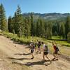 basinpeakski-2014_hike-up-road-castlepeak