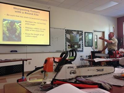 Chainsaw Training 2014