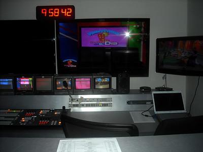 Visiting the Telestai Television Studio