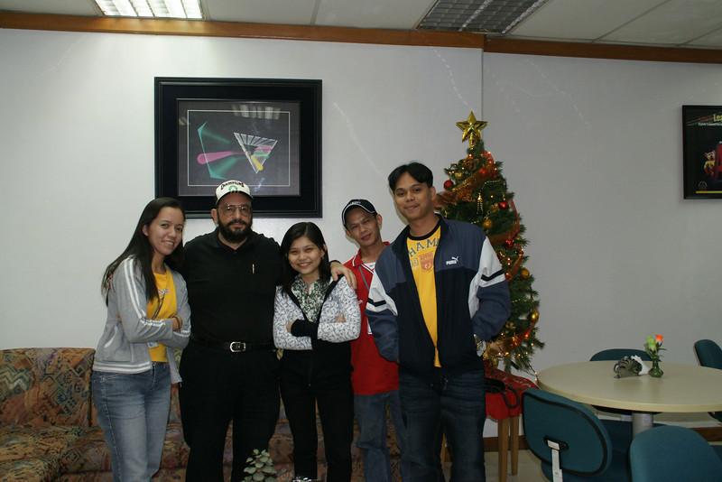 Joann, mem Chona and Rommel Ernest and Rommel our instructor