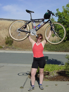 Old, heavy bike - may 2002.