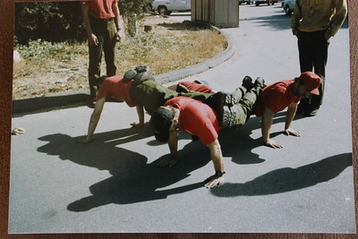 Four-Person Push-ups