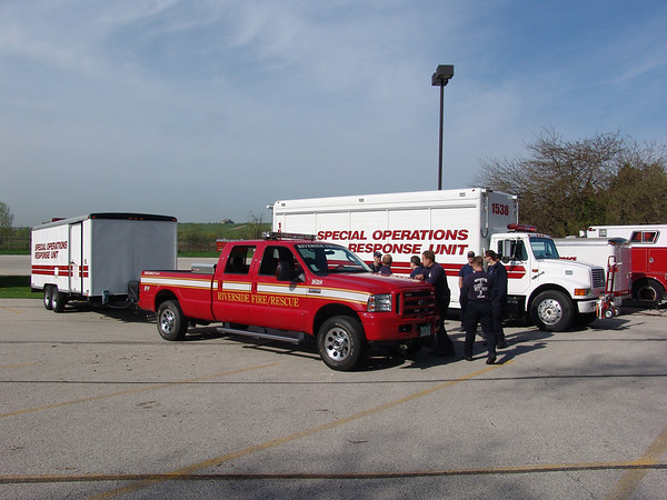 State Mabas Drill Glenview Illinois Nipsta Training Site