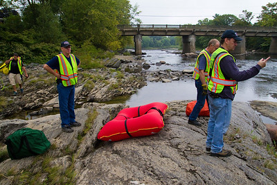Swift Water Rescue Training - Sandy River - September 15th, 2012