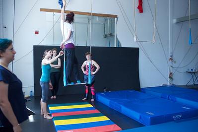 Circus Skills Week 2016