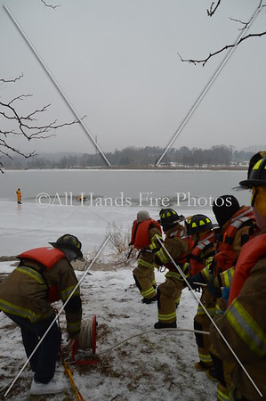 20140105 - Glen Cove - Ice Rescue Drill