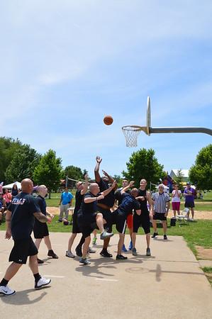 20140614 - FDMJ Vs MJPD Basketball Game