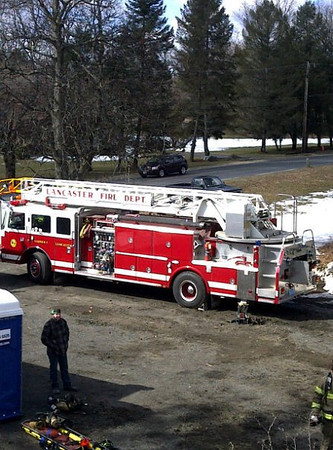 RIT, SCBA, Ladder Ops Training - March, 2011
