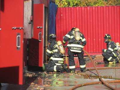 Live Fire Training - Worcester - Oct. 21, 2012