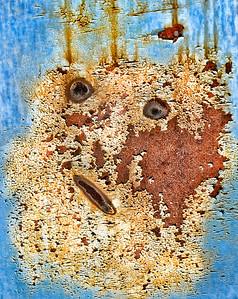 Rust on Tain Car