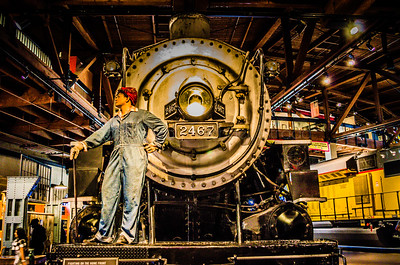 "Rosie the Riveter While the men were fighting on other shores during WW II, women known as ""Rosies"" took over the workforce to build ships and keep the railways moving."
