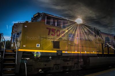 Locomotive UP 7508