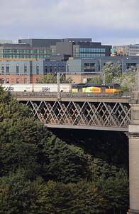 60 056 at Newcastle King Edward VII Bridge on 23rd September 2021