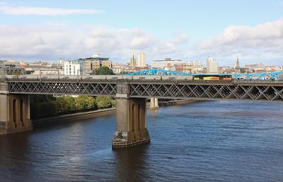 60056 at Newcastle King Edward VII Bridge on 23rd September 2021