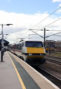91 119 at Doncaster on 24 September 2021
