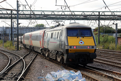 91 110 at Doncaster on 24th September 2021
