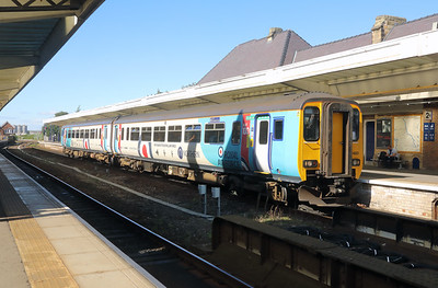 156 480 at Middlesbrough on 22nd September 2021