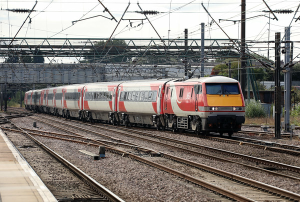 91 127 at Doncaster on 24th September 2021