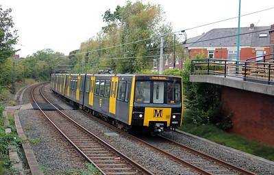 Metro, 4060 at West Jesmond on 23rd September 2021