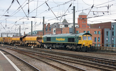 66532 at Newcastle on 23rd September 2021