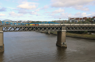 2) 60 047 at Newcastle King Edward VII Bridge on 23rd September 2021