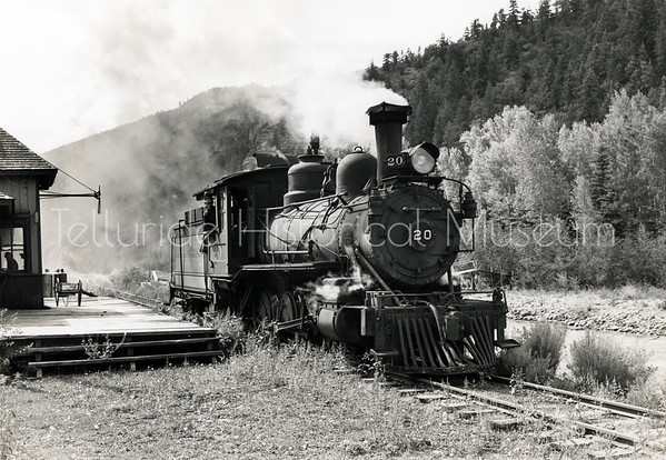 2005-01-061: Engine No. 20 At Placerville Depot